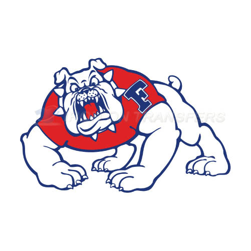 Fresno State Bulldogs Logo T-shirts Iron On Transfers N4426