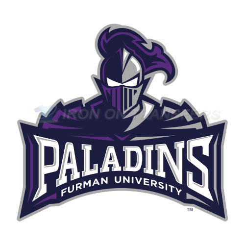 Furman Paladins Logo T-shirts Iron On Transfers N4428