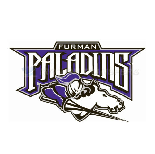 Furman Paladins Logo T-shirts Iron On Transfers N4430