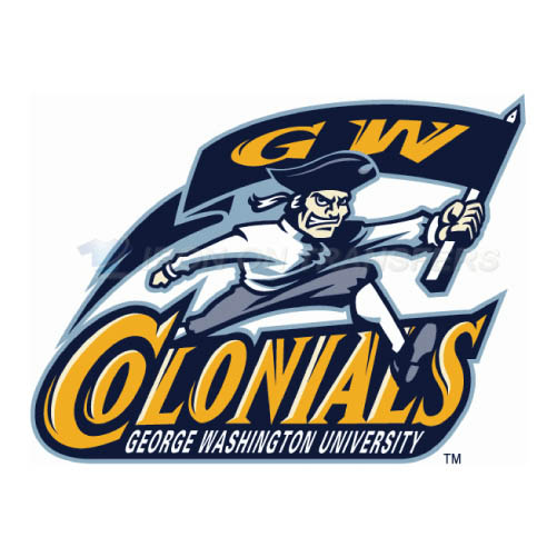 George Washington Colonials Logo T-shirts Iron On Transfers N445