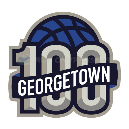 Georgetown Hoyas Logo T-shirts Iron On Transfers N4454