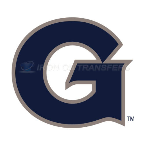 Georgetown Hoyas Logo T-shirts Iron On Transfers N4456