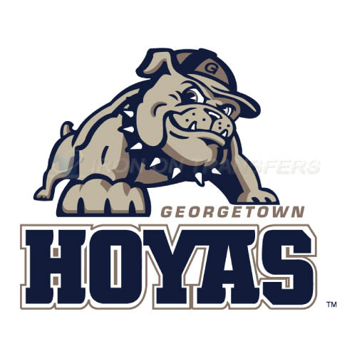 Georgetown Hoyas Logo T-shirts Iron On Transfers N4457