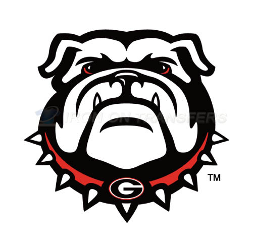 Georgia Bulldogs Logo T-shirts Iron On Transfers N4469