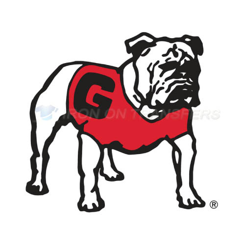 Georgia Bulldogs Logo T-shirts Iron On Transfers N4470