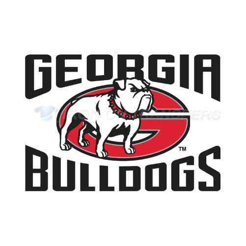 Georgia Bulldogs Logo T-shirts Iron On Transfers N4471