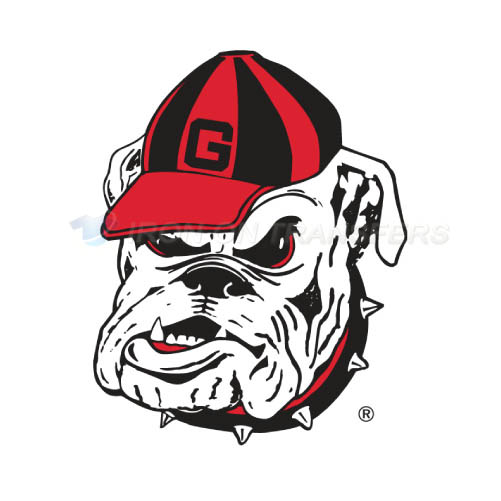 Georgia Bulldogs Logo T-shirts Iron On Transfers N4472