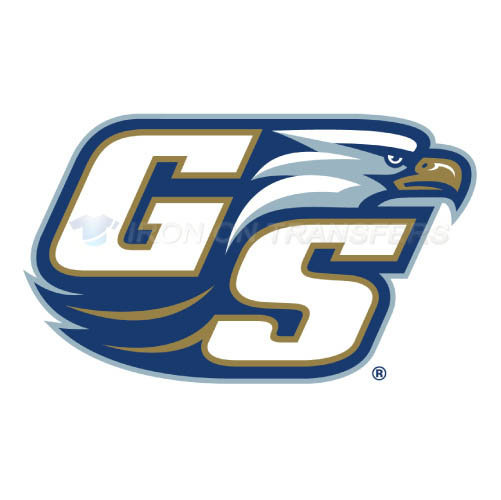 Georgia Southern Eagles Logo T-shirts Iron On Transfers N4476