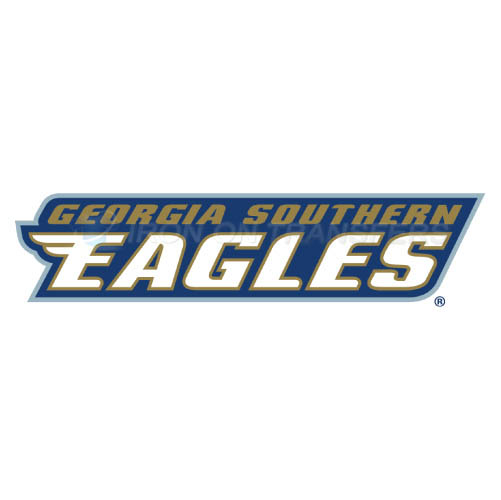 Georgia Southern Eagles Logo T-shirts Iron On Transfers N4477
