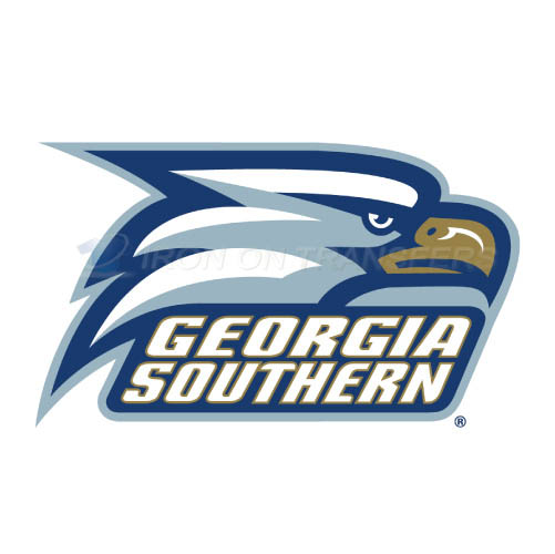 Georgia Southern Eagles Logo T-shirts Iron On Transfers N4478