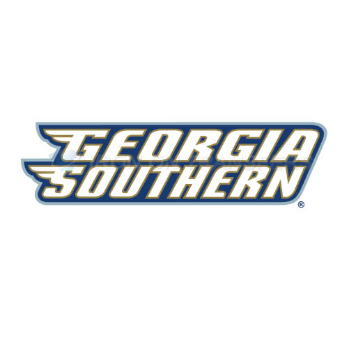 Georgia Southern Eagles Logo T-shirts Iron On Transfers N4480
