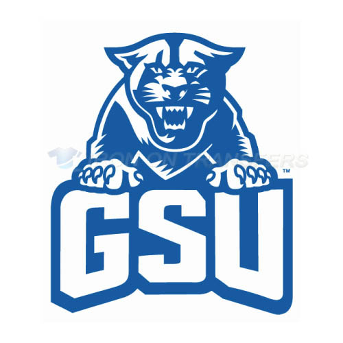 Georgia State Panthers Logo T-shirts Iron On Transfers N4482