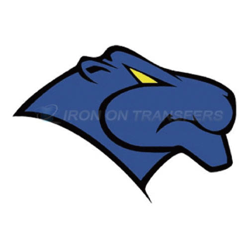 Georgia State Panthers Logo T-shirts Iron On Transfers N4484