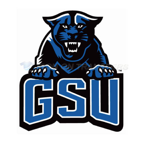 Georgia State Panthers Logo T-shirts Iron On Transfers N4485