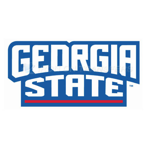 Georgia State Panthers Logo T-shirts Iron On Transfers N4490