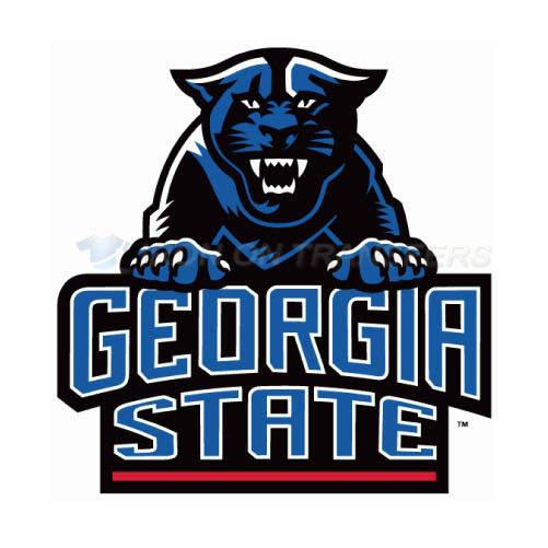 Georgia State Panthers Logo T-shirts Iron On Transfers N4491