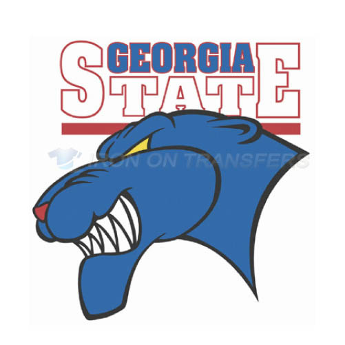 Georgia State Panthers Logo T-shirts Iron On Transfers N4493