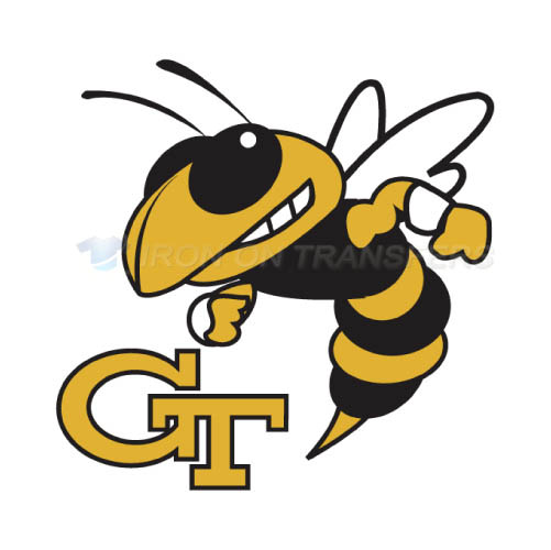 Georgia Tech Yellow Jackets Logo T-shirts Iron On Transfers N449