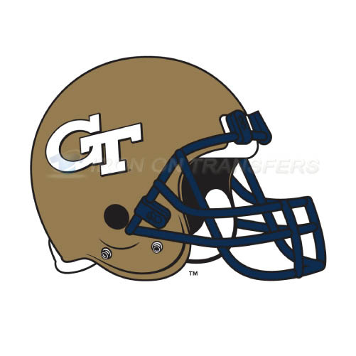 Georgia Tech Yellow Jackets Logo T-shirts Iron On Transfers N450