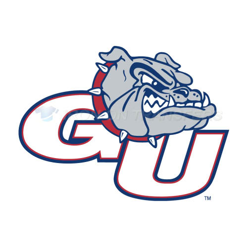 Gonzaga Bulldogs Logo T-shirts Iron On Transfers N4509