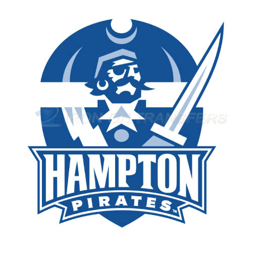 Hampton Pirates Logo T-shirts Iron On Transfers N4520