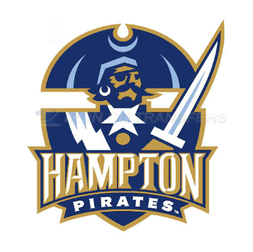 Hampton Pirates Logo T-shirts Iron On Transfers N4522