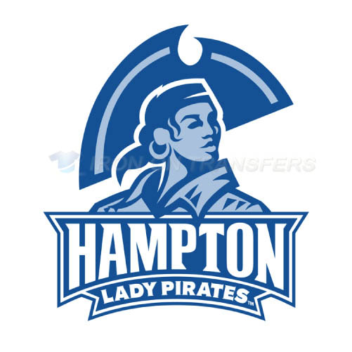 Hampton Pirates Logo T-shirts Iron On Transfers N4526