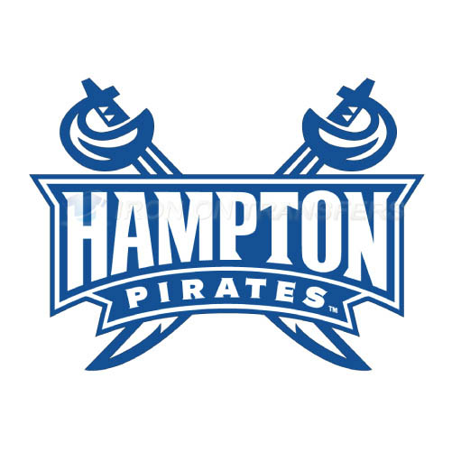 Hampton Pirates Logo T-shirts Iron On Transfers N4527