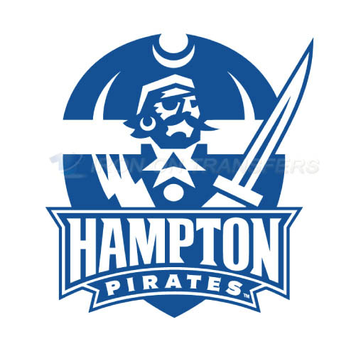 Hampton Pirates Logo T-shirts Iron On Transfers N4530