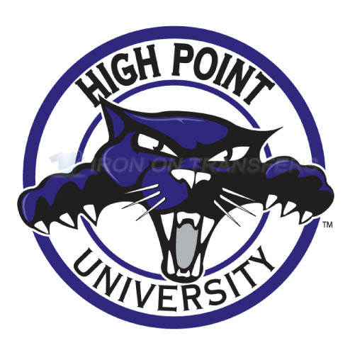 High Point Panthers Logo T-shirts Iron On Transfers N4548