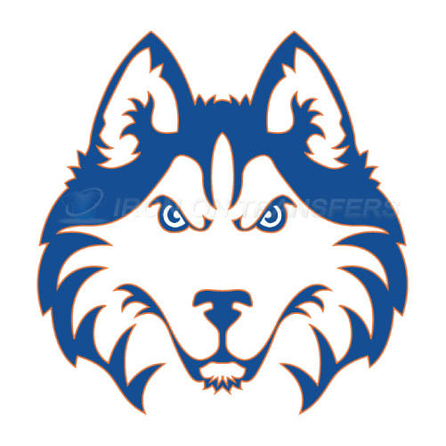 Houston Baptist Huskies Logo T-shirts Iron On Transfers N4569