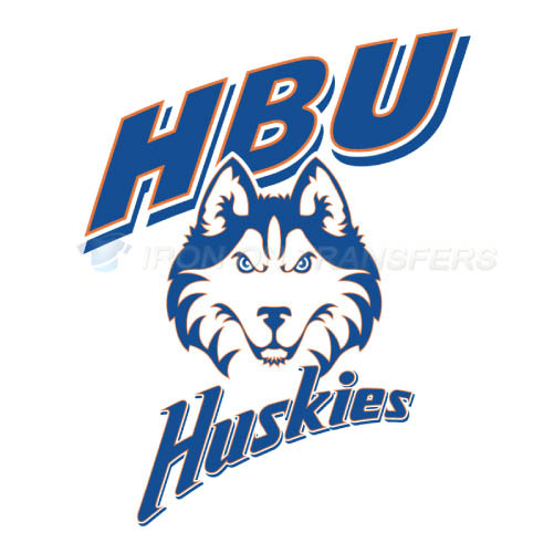Houston Baptist Huskies Logo T-shirts Iron On Transfers N4570