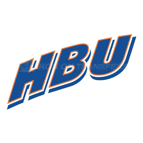 Houston Baptist Huskies Logo T-shirts Iron On Transfers N4571