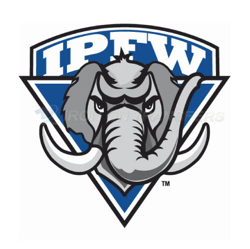IPFW Mastodons Logo T-shirts Iron On Transfers N4673