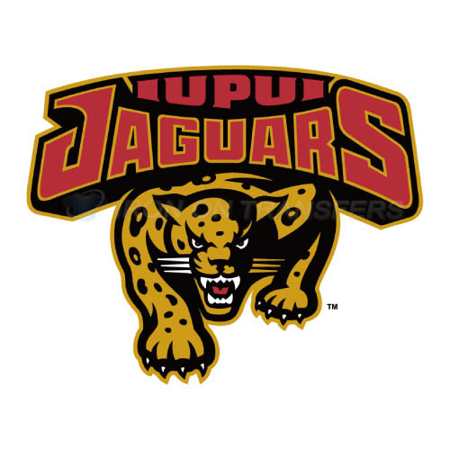 IUPUI Jaguars Logo T-shirts Iron On Transfers N4674
