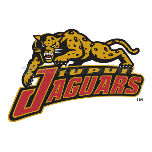 IUPUI Jaguars Logo T-shirts Iron On Transfers N4679