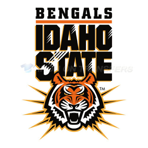 Idaho State Bengals Logo T-shirts Iron On Transfers N4587
