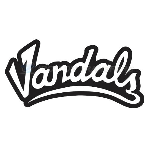 Idaho Vandals Logo T-shirts Iron On Transfers N4593