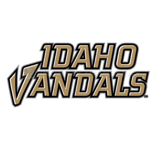 Idaho Vandals Logo T-shirts Iron On Transfers N4595