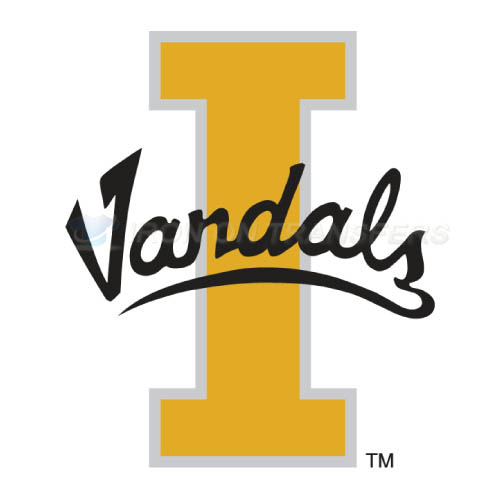 Idaho Vandals Logo T-shirts Iron On Transfers N4596
