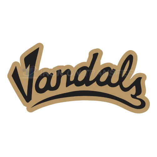 Idaho Vandals Logo T-shirts Iron On Transfers N4598