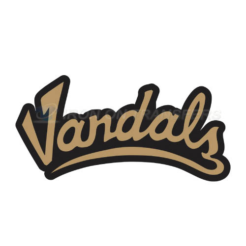 Idaho Vandals Logo T-shirts Iron On Transfers N4599