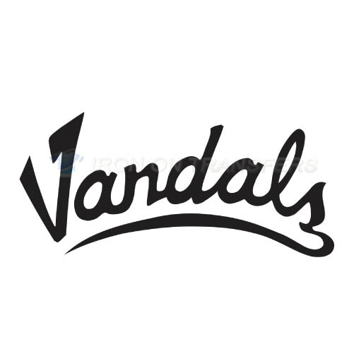 Idaho Vandals Logo T-shirts Iron On Transfers N4600