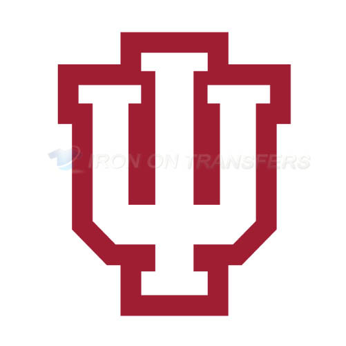 Indiana Hoosiers Logo T-shirts Iron On Transfers N4628