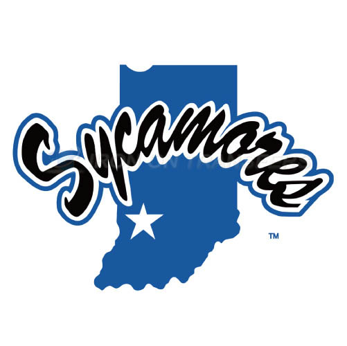 Indiana State Sycamores Logo T-shirts Iron On Transfers N4634