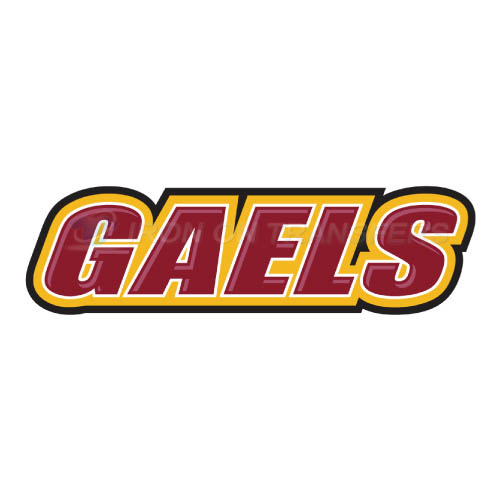 Iona Gaels Logo T-shirts Iron On Transfers N4645