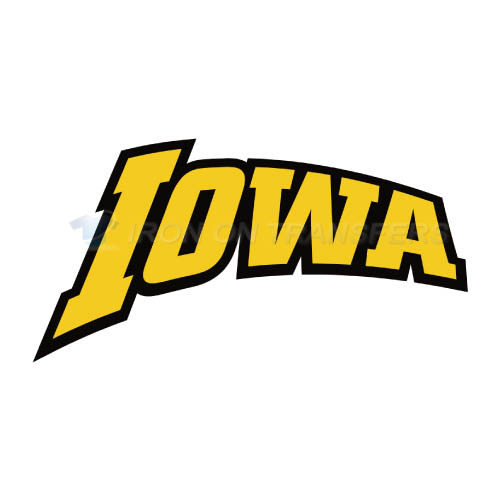 Iowa Hawkeyes Logo T-shirts Iron On Transfers N4648