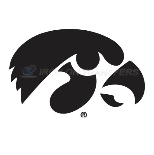 Iowa Hawkeyes Logo T-shirts Iron On Transfers N4651