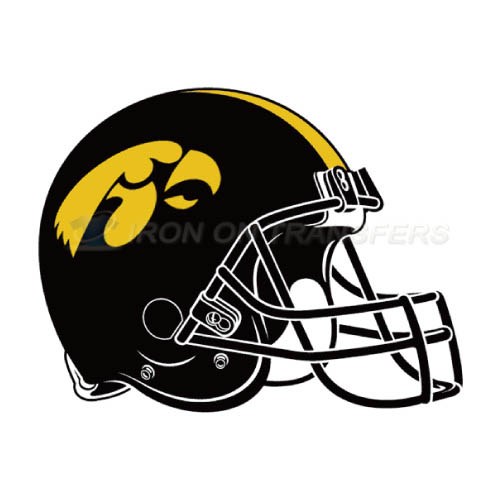 Iowa Hawkeyes Logo T-shirts Iron On Transfers N4653