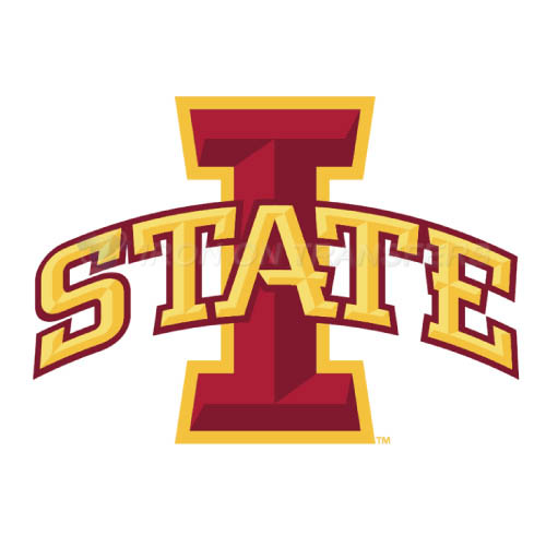 Iowa State Cyclones Logo T-shirts Iron On Transfers N4664